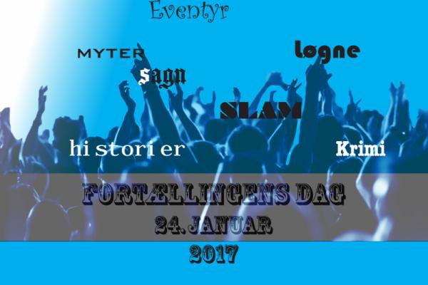 Fortællingens Dag 2017 – Plakat af Maria Junghans