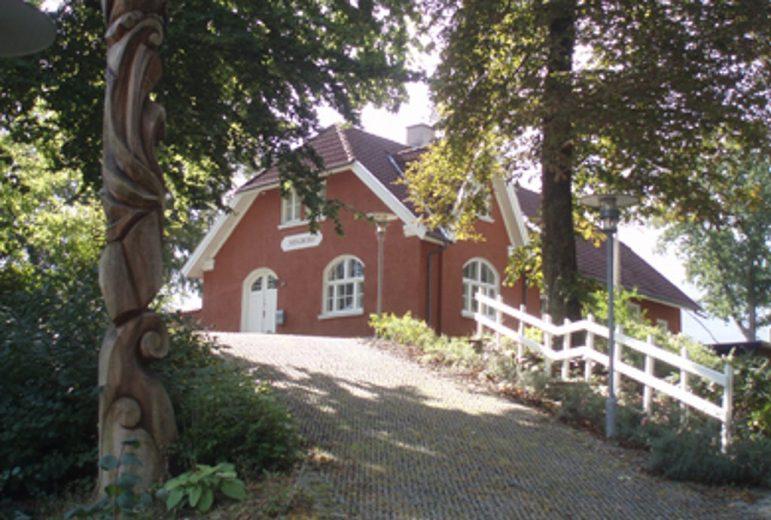 Evald Tang Kristensens hjem, Mindebo. Foto: Det Kongelige Bibliotek