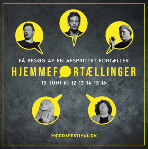 Hjemmefortællinger Words-festival